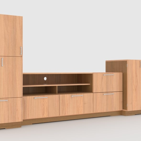 tv stand 66 - 3DOcean Item for Sale