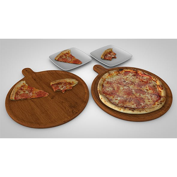 3d Tasty pizza pack