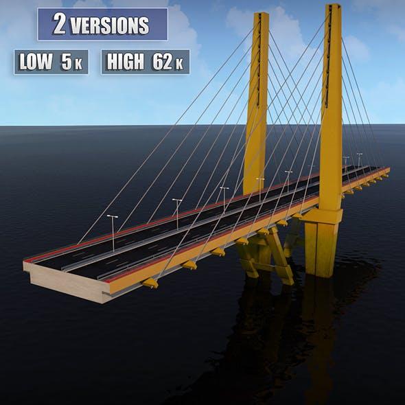 Suspended Water Road Bridge 2