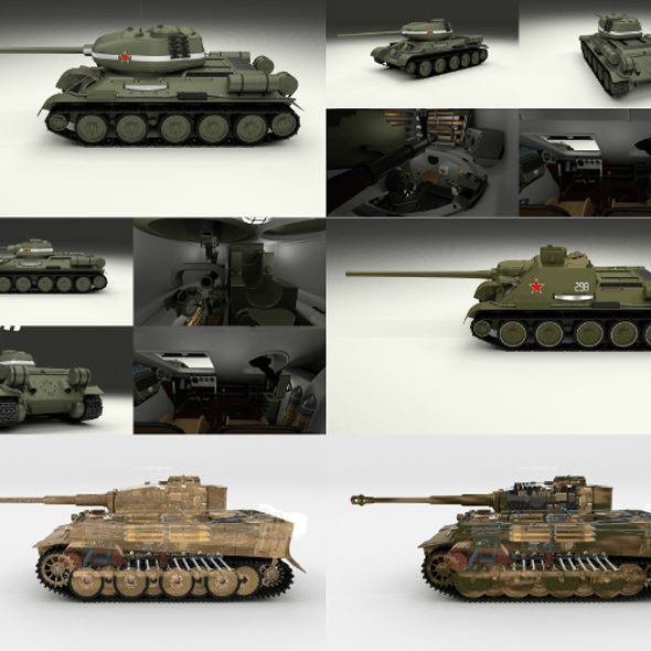 Eastern Front Armor Pack with Interior v2