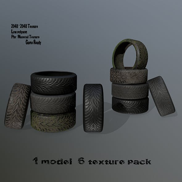 Tire_1 - 3DOcean Item for Sale