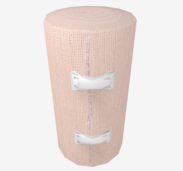 Elastic Bandage Clips Middle Beige - 3DOcean Item for Sale
