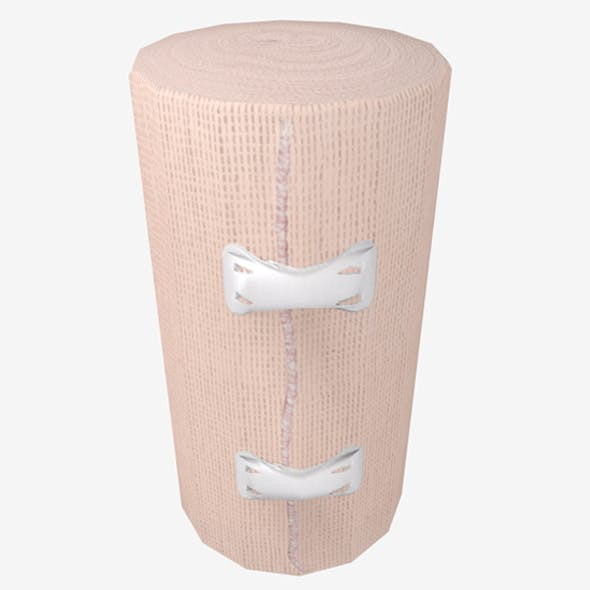 Elastic Bandage Clips Middle Beige