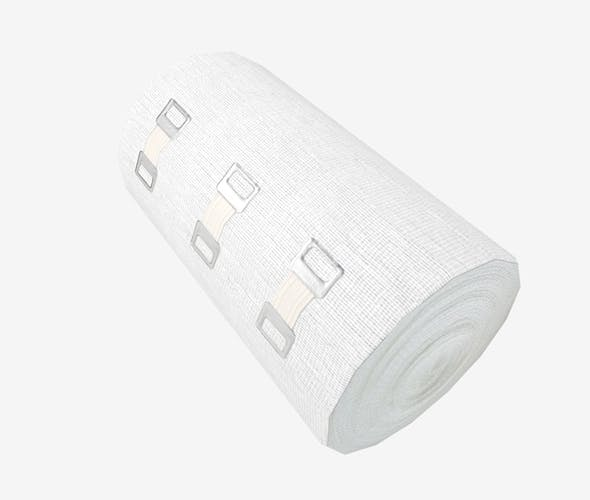 Elastic Bandage Clips Big - 3DOcean Item for Sale