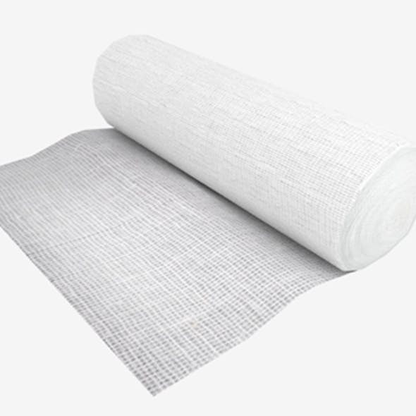 Gauze Bandage Roll Unpacked
