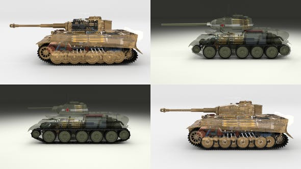 Eastern Front Armor Pack with Interior and Engine Bay v1 - 3DOcean Item for Sale