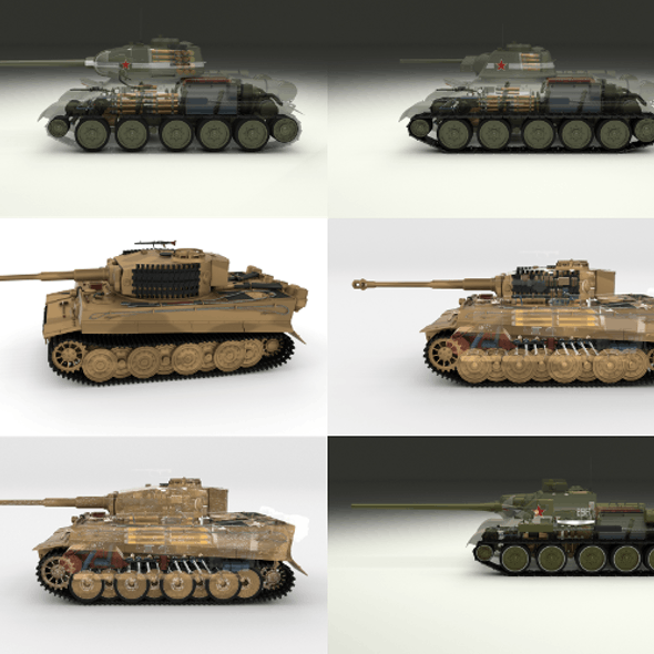 Eastern Front Armor Pack with Interior and Engine Bay v2
