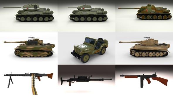 Full WW2 Pack - 3DOcean Item for Sale