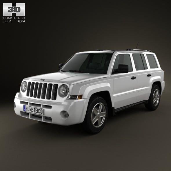 Jeep Patriot 2011  - 3DOcean Item for Sale