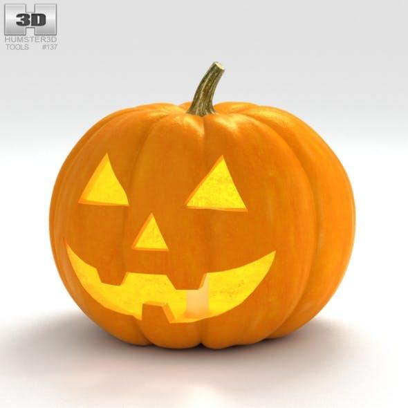 Jack-o'-Lantern Halloween - 3DOcean Item for Sale