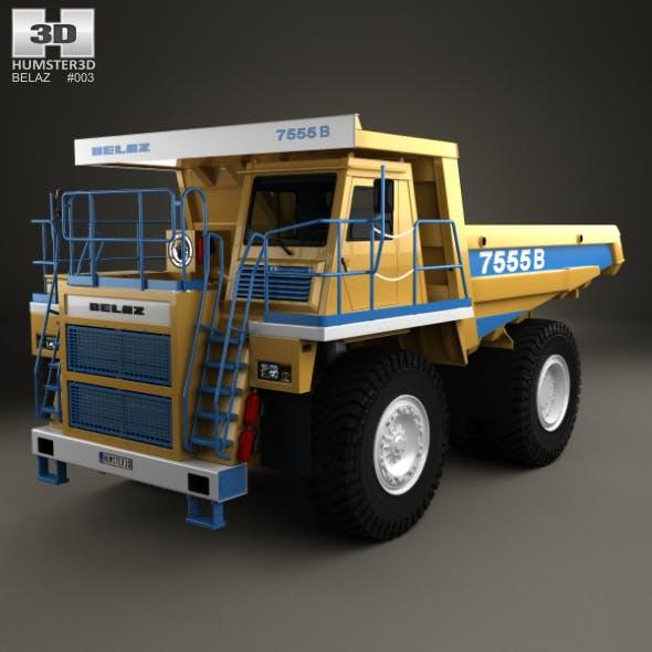 BelAZ 7555B Dump Truck 2016
