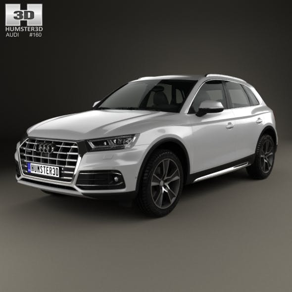 Audi Q5 2016 - 3DOcean Item for Sale