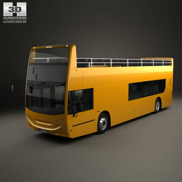 Alexander Dennis Enviro400 Open Top Bus 2015 - 3DOcean Item for Sale