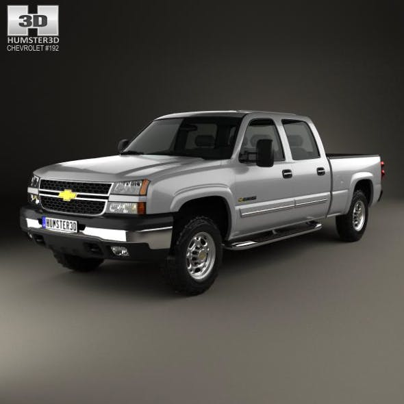 Chevrolet Silverado 2500 Crew Cab Long Bed 2002