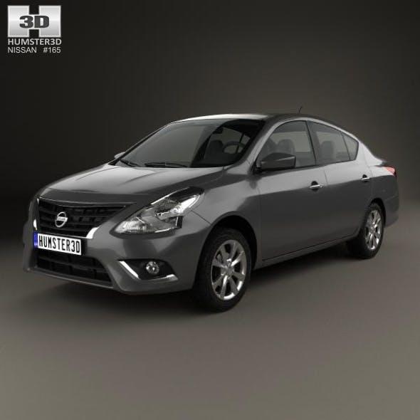 Nissan Versa Sense 2015 - 3DOcean Item for Sale