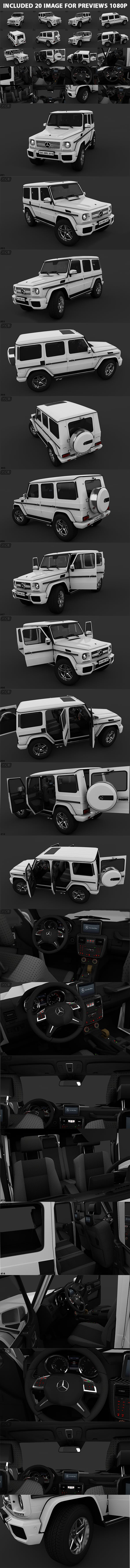 Mercedes-Benz G65 AMG - 3DOcean Item for Sale