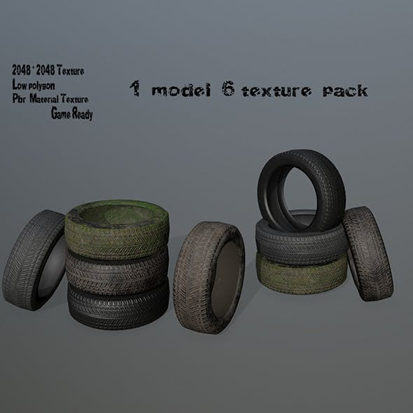 Tire_2 - 3DOcean Item for Sale