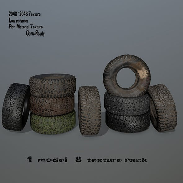 Tire_4 - 3DOcean Item for Sale