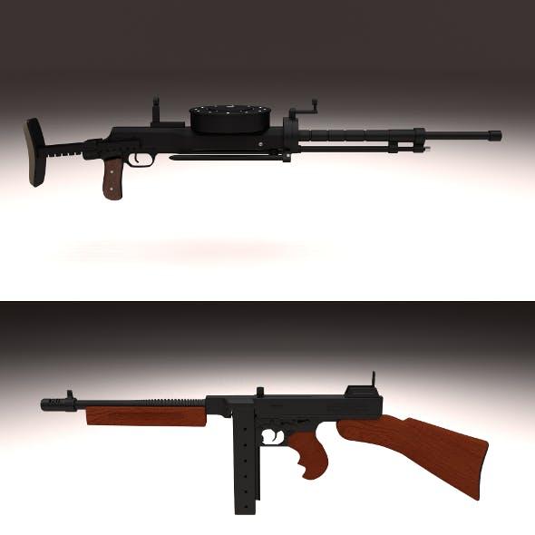 WW2 Machine Gun Pack