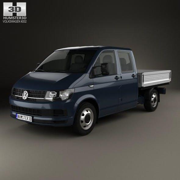 Volkswagen Transporter (T6) Double Cab Pickup 2016 - 3DOcean Item for Sale