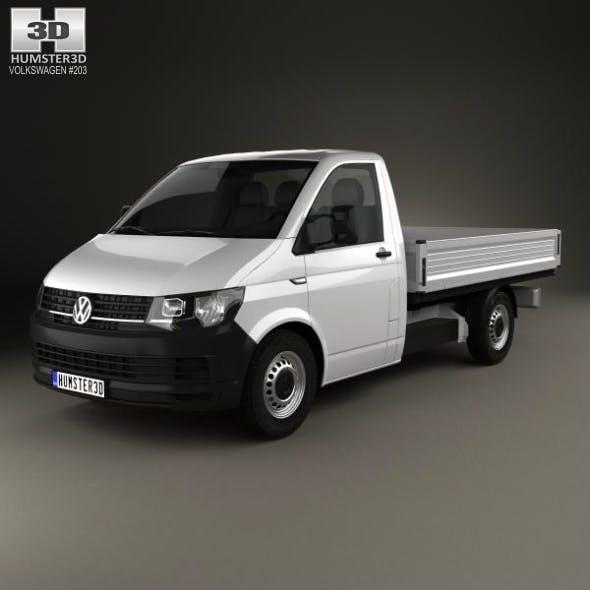 Volkswagen Transporter (T6) Single Cab Pickup L2 2016 - 3DOcean Item for Sale