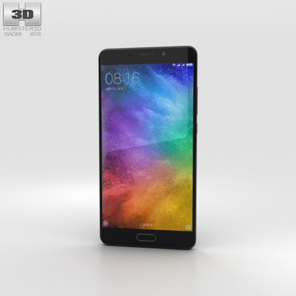 Xiaomi Mi Note 2 Black - 3DOcean Item for Sale