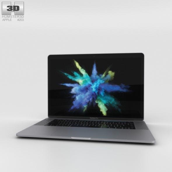 Apple MacBook Pro 15 inch (2016) Space Gray - 3DOcean Item for Sale