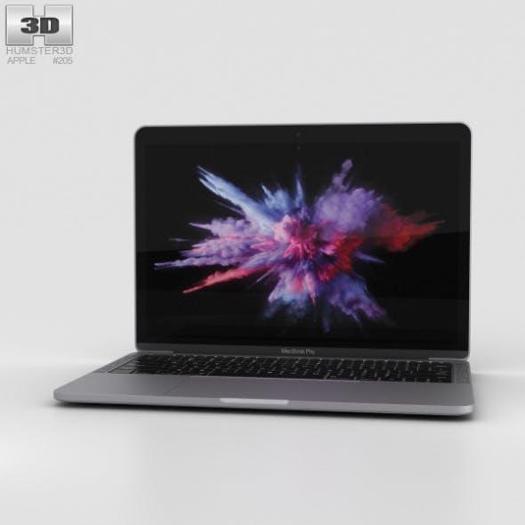 Apple MacBook Pro 13 inch (2016) Space Gray - 3DOcean Item for Sale