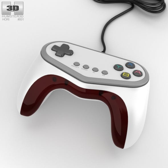 Hori Pokken Tournament Pro Pad Controller - 3DOcean Item for Sale