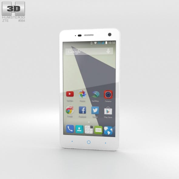 ZTE Blade L3 White - 3DOcean Item for Sale