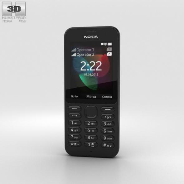 Nokia 222 Black - 3DOcean Item for Sale