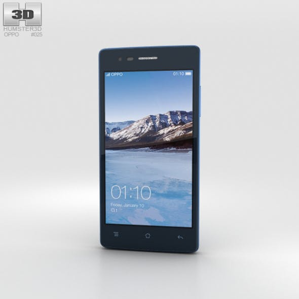 Oppo Neo 5 Blue - 3DOcean Item for Sale