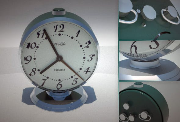Alarm Clock '85 - 3DOcean Item for Sale