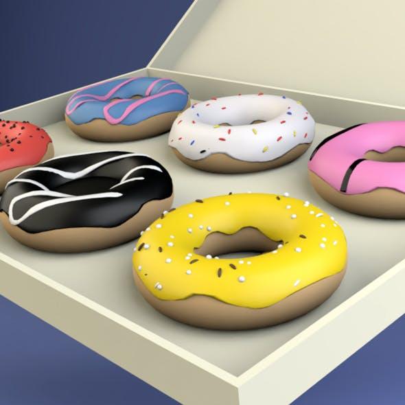 3D Donut - 3DOcean Item for Sale