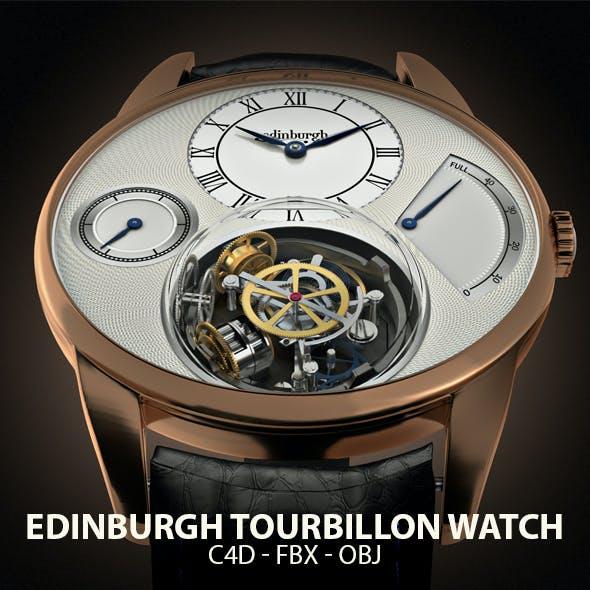 Edinburgh Tourbillon Watch 3D Model