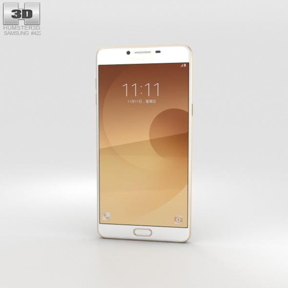 Samsung Galaxy C9 Pro Gold - 3DOcean Item for Sale