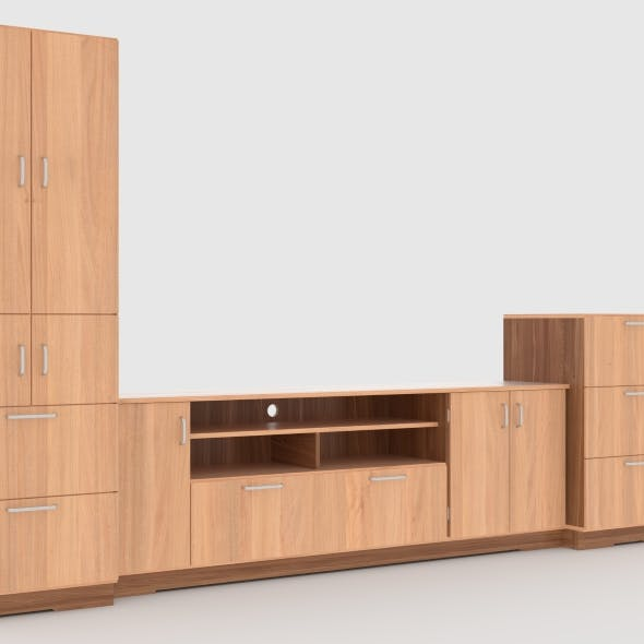 tv stand 67 - 3DOcean Item for Sale