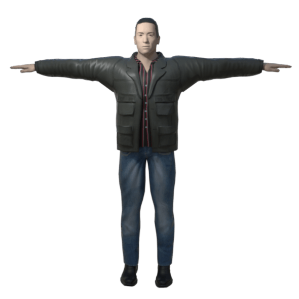 Male 3D Character - 3DOcean Item for Sale