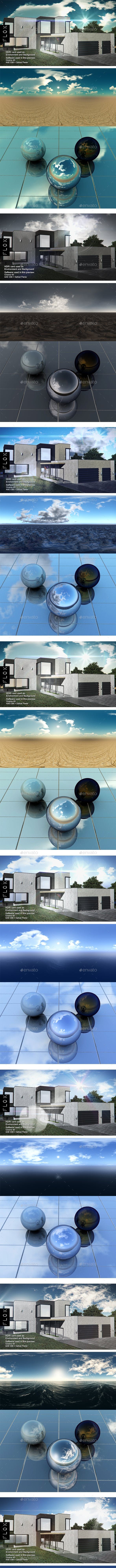 HDRI Pack - Desert vol 29 - 3DOcean Item for Sale