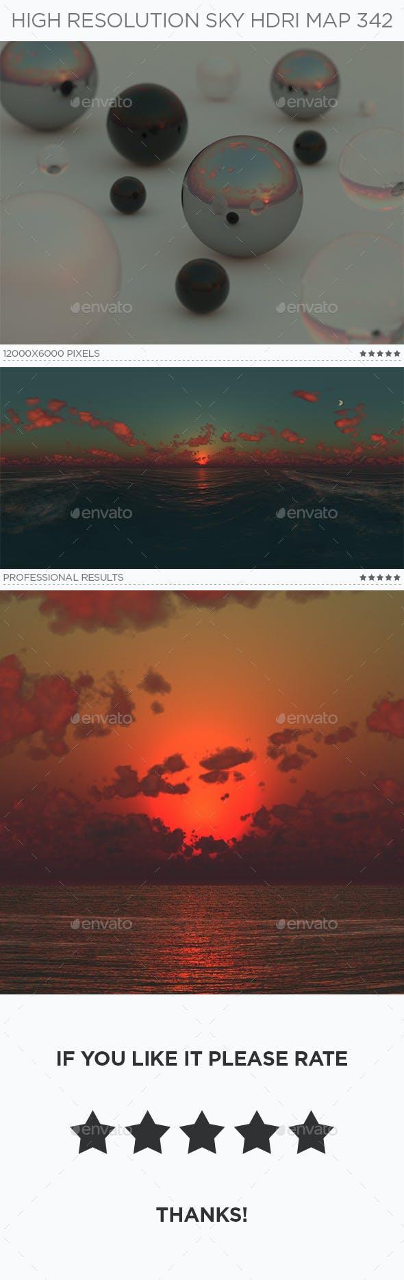 High Resolution Sky HDRi Map 342 - 3DOcean Item for Sale