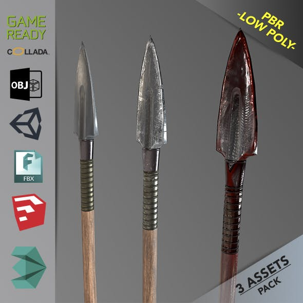 Spear 1 - 3DOcean Item for Sale