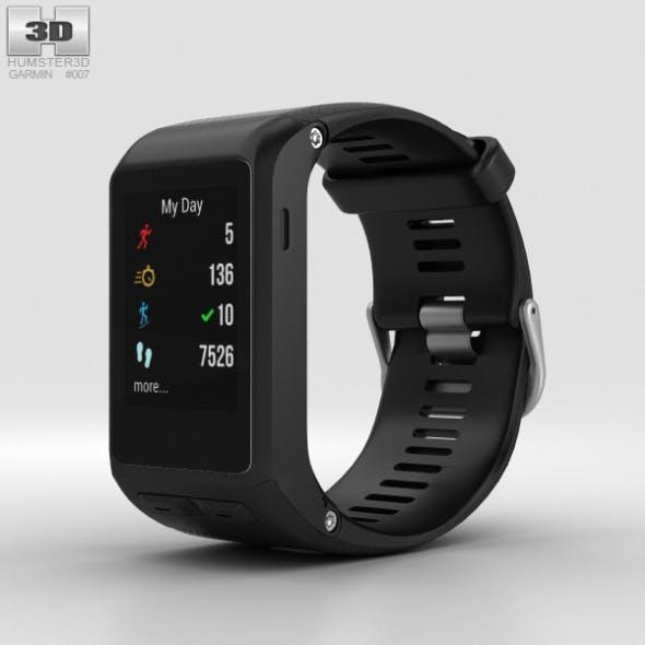 Garmin Vivoactive HR Black - 3DOcean Item for Sale