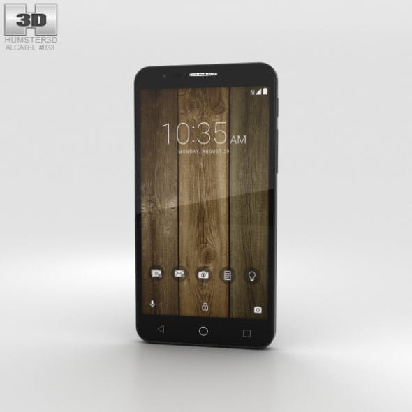 Alcatel Fierce 4 Black