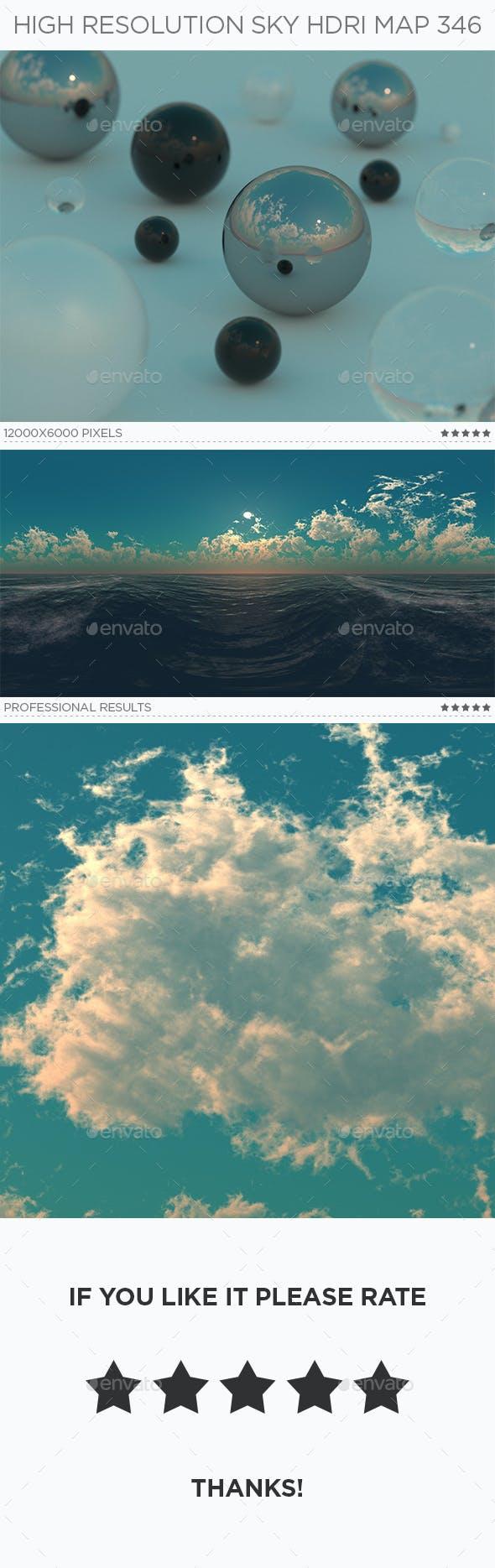 High Resolution Sky HDRi Map 346 - 3DOcean Item for Sale