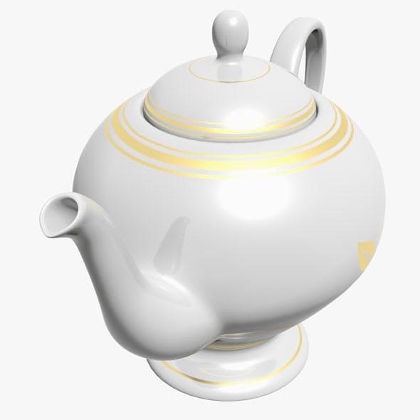 Teapot - 3DOcean Item for Sale