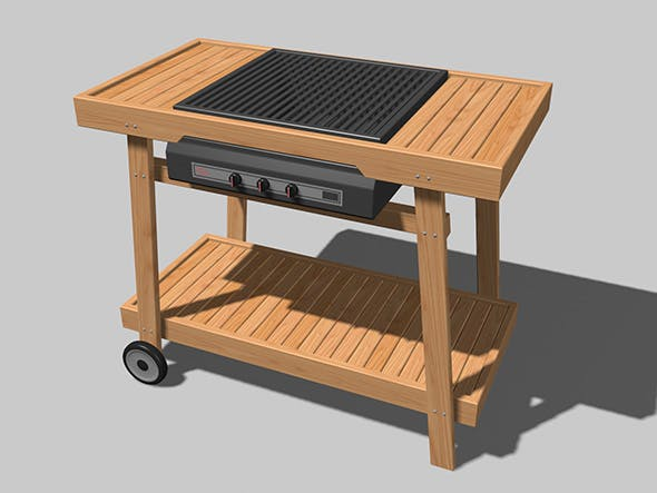 Barbecue - 3DOcean Item for Sale