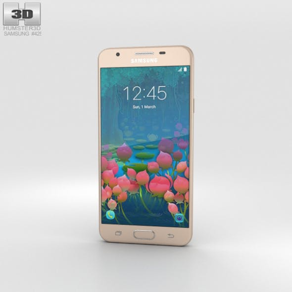 Samsung Galaxy J5 Prime Gold - 3DOcean Item for Sale