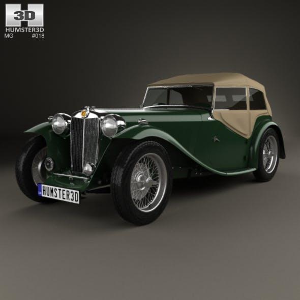 MG TC Midget 1945 - 3DOcean Item for Sale