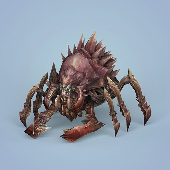 Fantasy Monster Spider