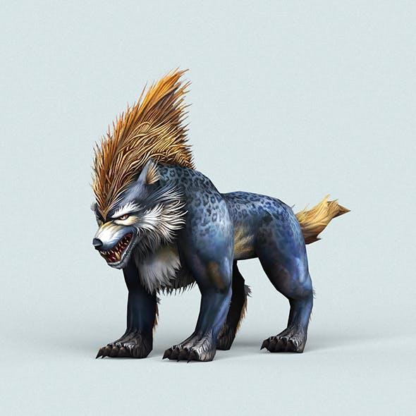 Fantasy Cartoon Wolf - 3DOcean Item for Sale